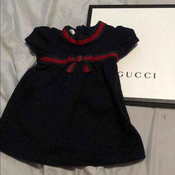 dda0c40e8 Gucci Dresses | Baby Girl Dress | Poshmark